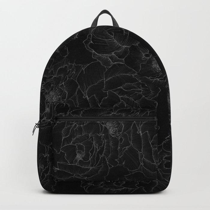 Peony Flower Pattern III Backpack