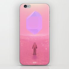 Lost Astronaut Series #03 - Floating Crystal iPhone & iPod Skin