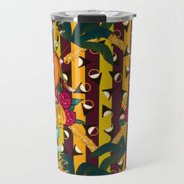Maximalist tiger dream Travel Mug
