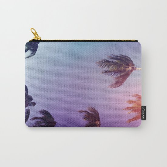 Under tall Palm trees Carry-All Pouch