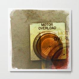 motor overload 1 Metal Print