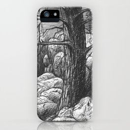 Living in the limit iPhone Case