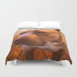 ARTHUR (shelter pup) Duvet Cover