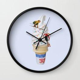 sweet shred Wall Clock