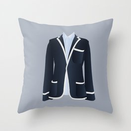 Best Dressed - Blazer Throw Pillow