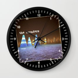 Gang of Cones  - The Invaders Wall Clock