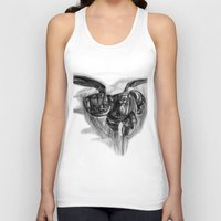 big hero 6 Tank Tops featuring Baymax Big Hero 6 by VivianLohArts