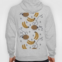 b is for the bee and her bananas Hoody