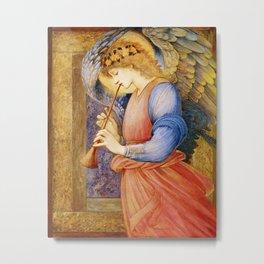 Angel Gabriel Antique Spiritual art Metal Print