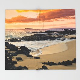 Paako Beach Dreams Throw Blanket