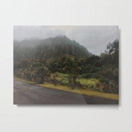 Rustic Mountains Metal Print
