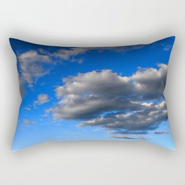 Watercolor Landscape, Lost Creek Wilderness 20, Colorado Rectangular Pillow