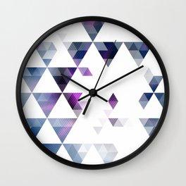 Geometric Delight Wall Clock