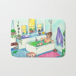 Witchy Relax Bath Mat