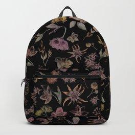 Botanical Study- Dark Colorway Backpack