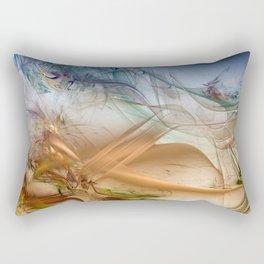 Fraktal Abstract Rectangular Pillow