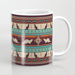 Boho Animals | Ferret sunset Coffee Mug