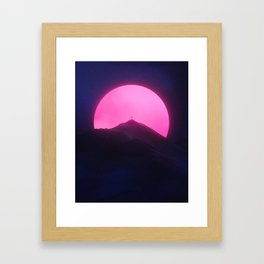 Without You (New Sun II) Framed Art Print