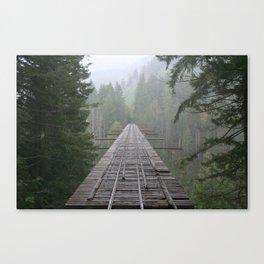 That NW Bridge - Vance Creek Viaduct. Canvas Print