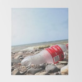 Just Don't Leave That Personalized Coke Bottle at the Scene of the Crime... Throw Blanket