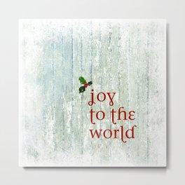 Joy & Holly Metal Print