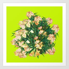 Oleanders with vincent Art Print