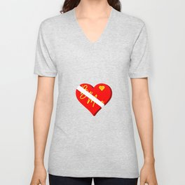 Box of Chocolates Valentines Day Unisex V-Neck