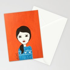 Blue Sweater Stationery Cards