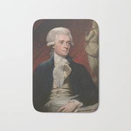 Thomas Jefferson Painting Bath Mat