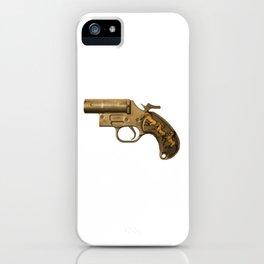 HORSES-Gunmetal iPhone Case