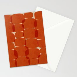 Abstraction_COLOR_ROCKS_Minimalism_003 Stationery Cards