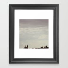 One last day Framed Art Print