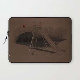 when monster can't live happy forever Laptop Sleeve