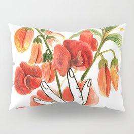botanical hands Pillow Sham