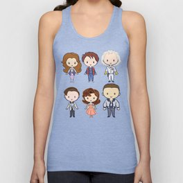 Back in Time: Lil' CutiEs Unisex Tank Top