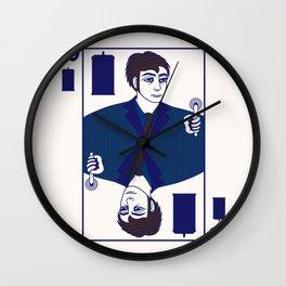 Ten of Tardis Wall Clock