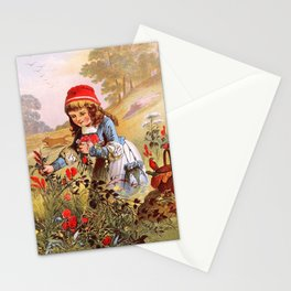 Carl Offterdinger - Little Red Riding Hood - Digital Remastered Edition Stationery Cards