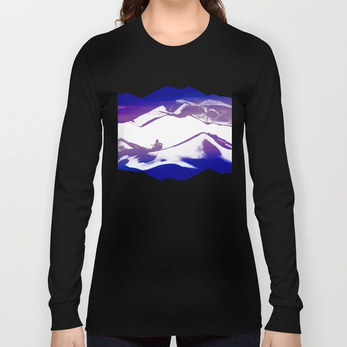 Purple Song of isolation Long Sleeve T-shirt