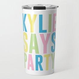 Kylie Minogue Travel Mug