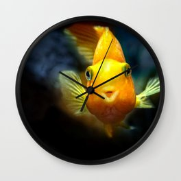 Funny goldgish Wall Clock
