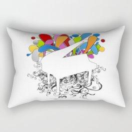 Power of Piano  Rectangular Pillow