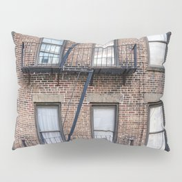New York Fire Escape Pillow Sham