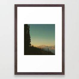 Moonrise Empire Framed Art Print