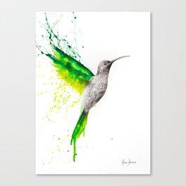 Emerald Sun Canvas Print