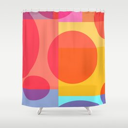 Fun Geometrics Shower Curtain