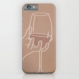 Wine Aesthetic iPhone Case