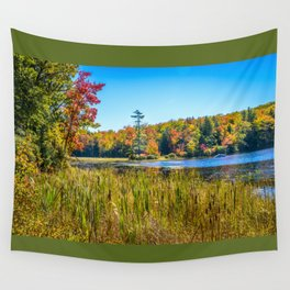 Along the fishing marsh. Wall Tapestry
