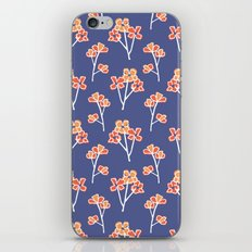 anemone flowers :: lavender iPhone & iPod Skin