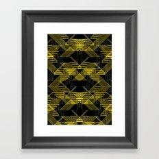 Laser Reflection Framed Art Print