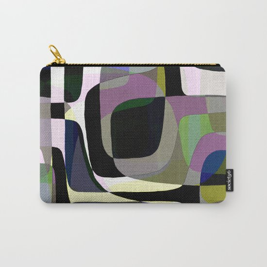 Mid Century Abstract 2 Carry-All Pouch